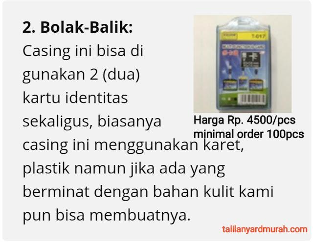 Jual casing ID card termurah di Jakarta