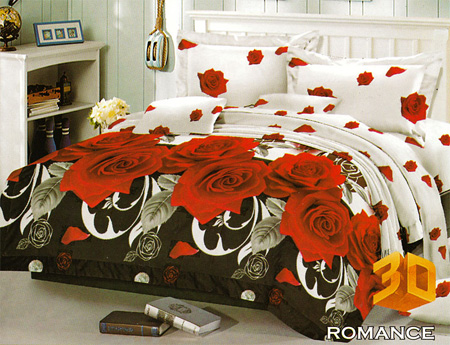 Sprei Red Rose Romance