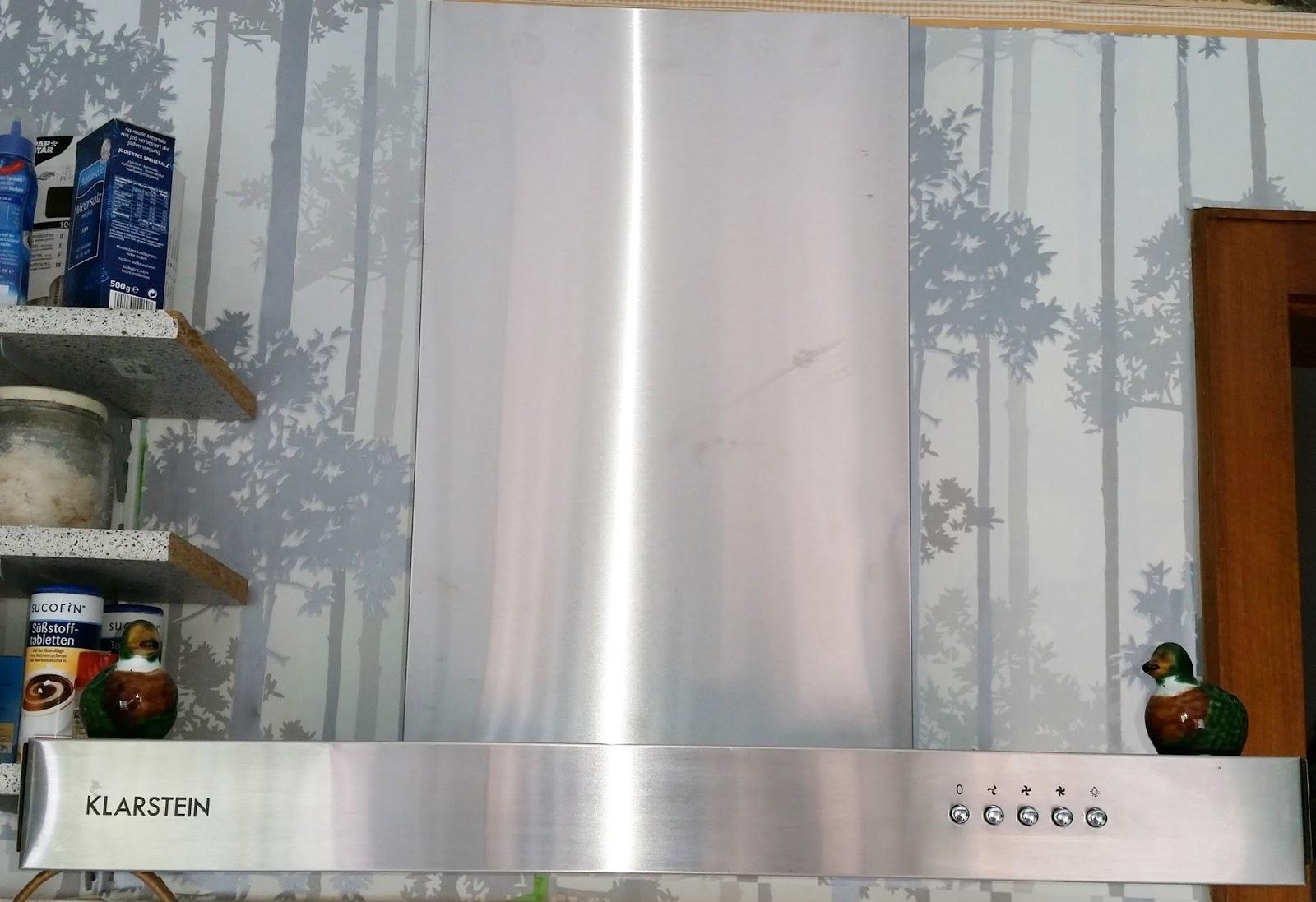 Zarahu201c dunstabzugshaube von klarstein u2013 ideal für kleinere küchen