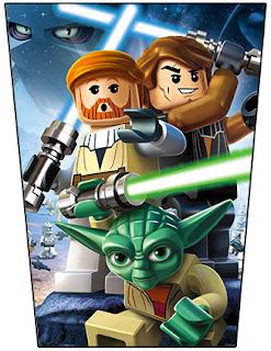 Imagenes para imprimir gratis de Star Wars Lego.