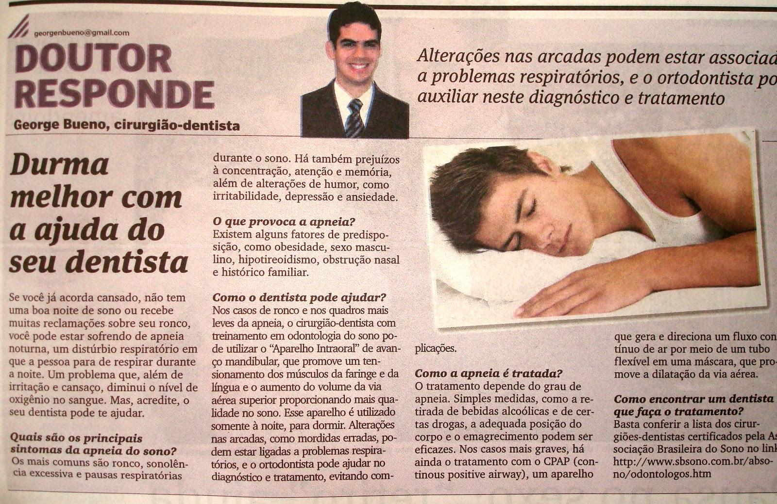 Bueno Ortodontia Apneia Obstrutiva Do Sono