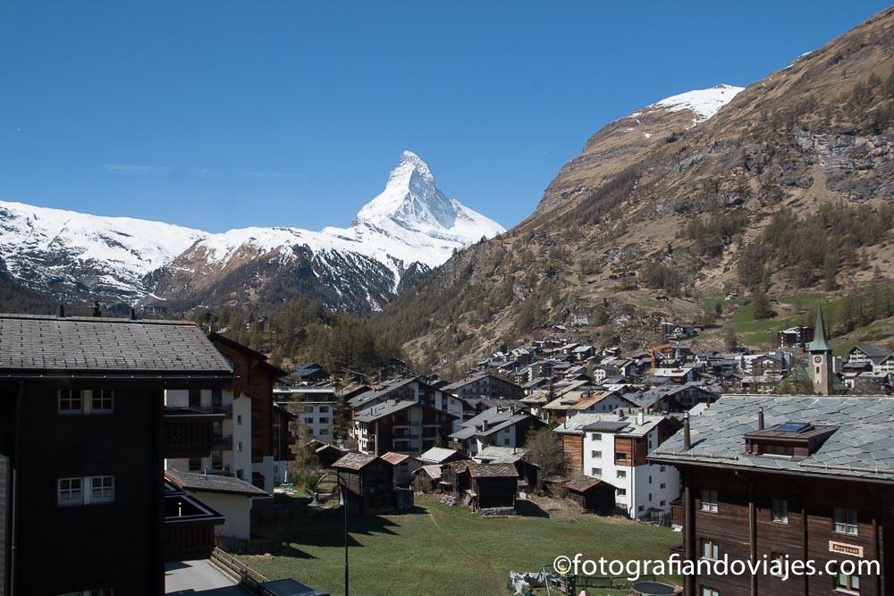 Zermatt y monte cervino o Matterhorn