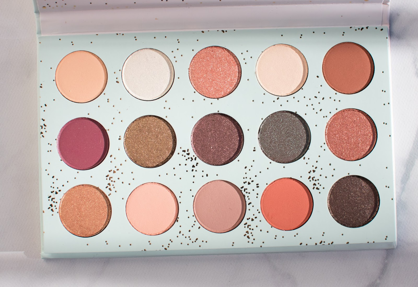 Colourpop All I See is Magic Pressed Powder Shadow Palette Open