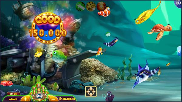 VinPlay Lộ Diện Hình Ảnh Mới Về Game Bắn Cá