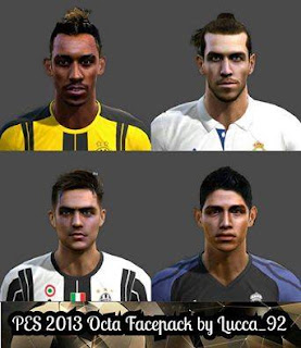 PES 2013 Octa Facepack by Lucca_92