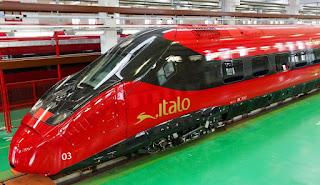 Presentato il treno Italo Evo