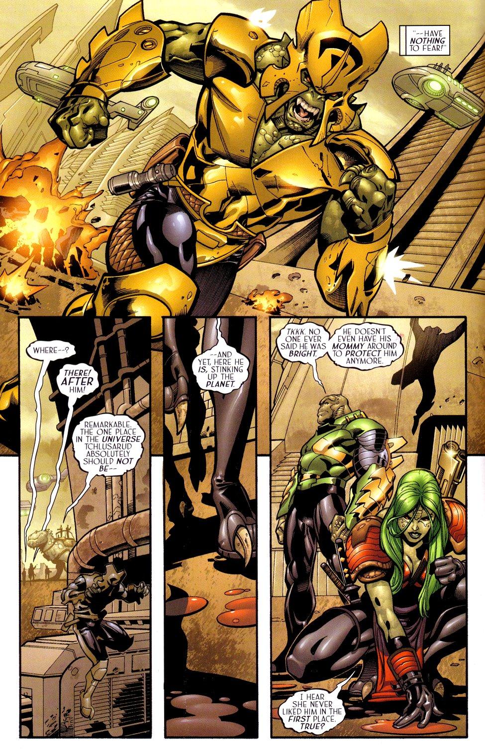 Read online Sigil (2000) comic -  Issue #18 - 11