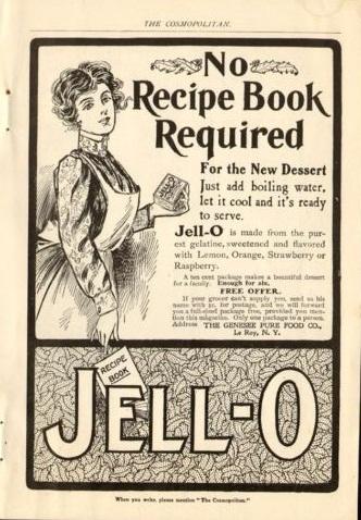Turn Of The Century America 1902 Jello Ad Since Jello
