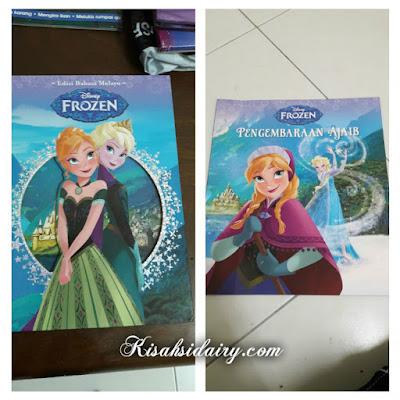 Buku Disney  Edisi bahasa Melayu dari Advantage Quest