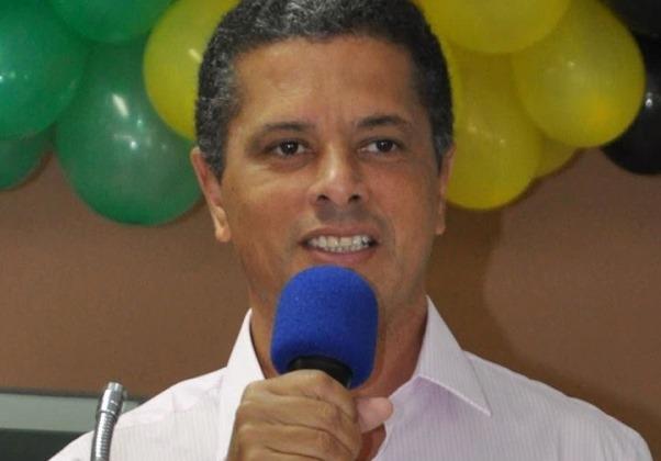 Prefeito de Conceição de Almeida (Foto: Sapeaçu na Mídia)