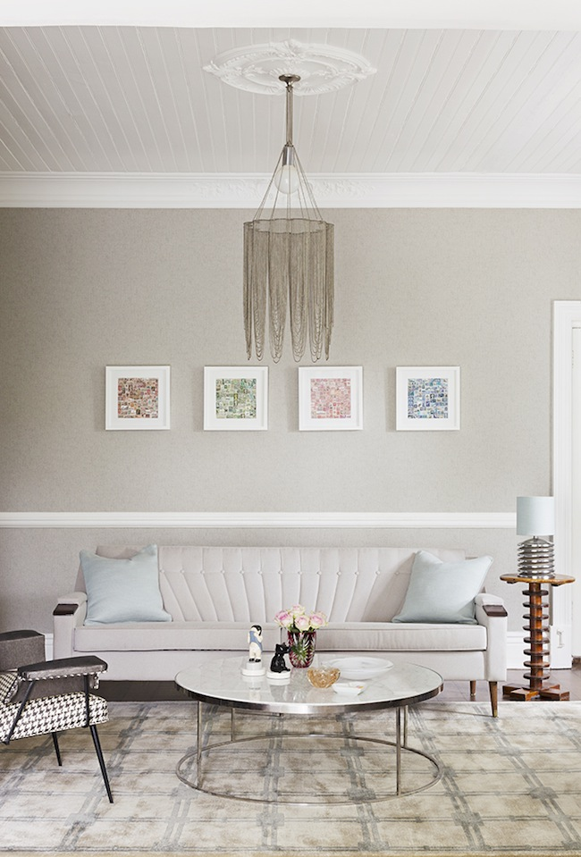 neutral shades living room | photo kristian holm