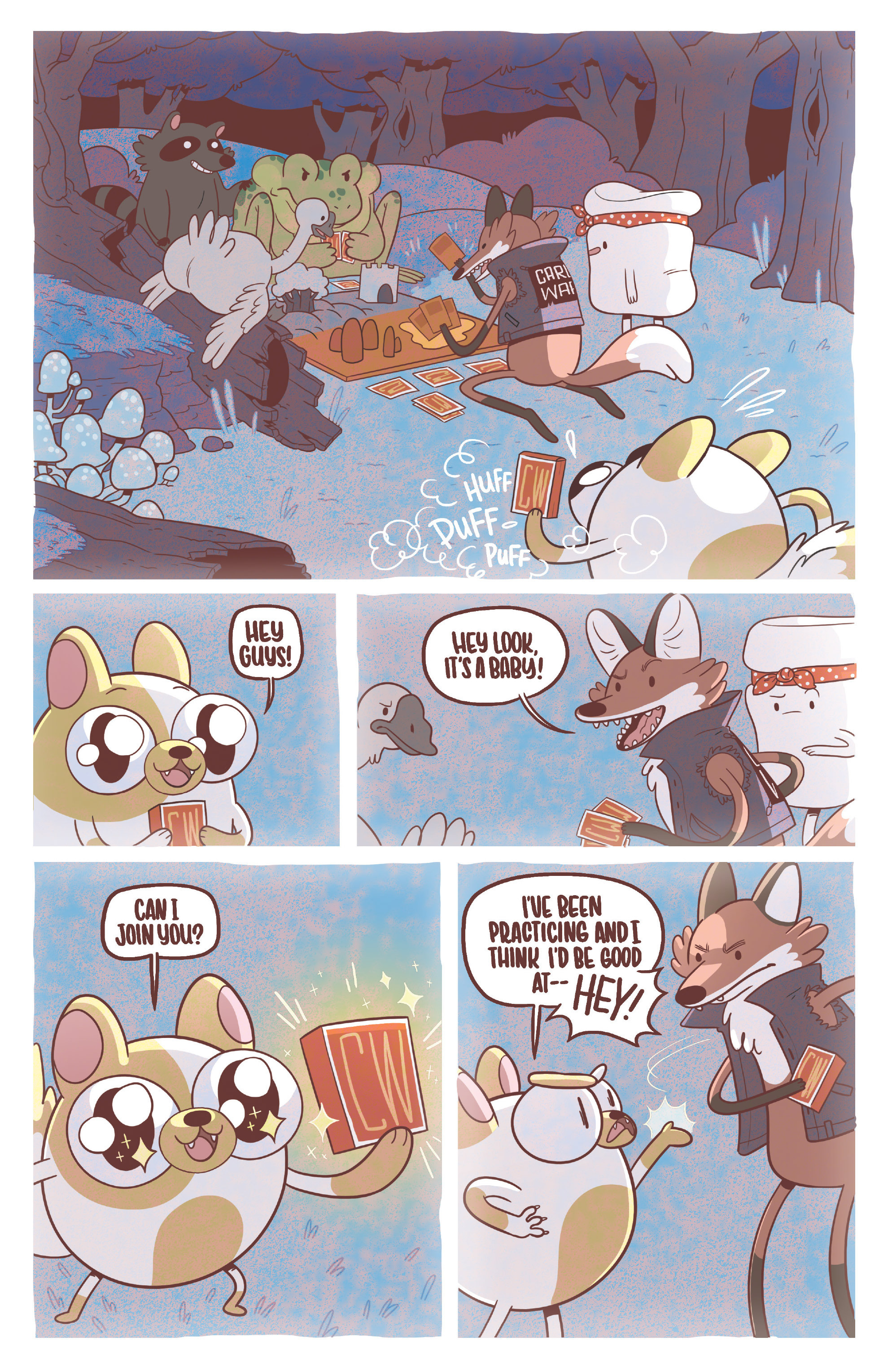 Read online Adventure Time Fionna and Cake Card Wars comic -  Issue #3 - 3