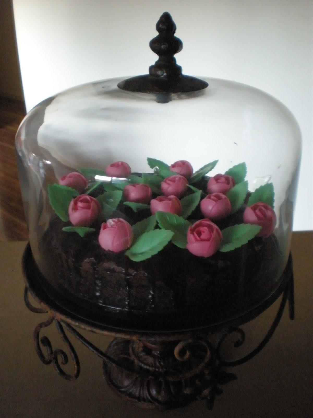 Edible Flower Birthday Cake