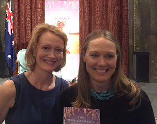 Emma Clark Lam and author Joy Rhoades