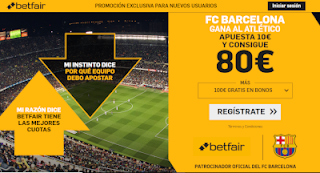 betfair supercuota liga Barcelona gana a Atletico 6 abril 2019