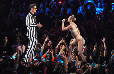 Robin Thicke, and Miley Cyrus