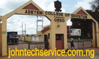 ACEONDO NCE Admission List 2017/2018