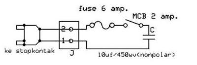 gambar cara membuat alat penghemat listrik sederhana