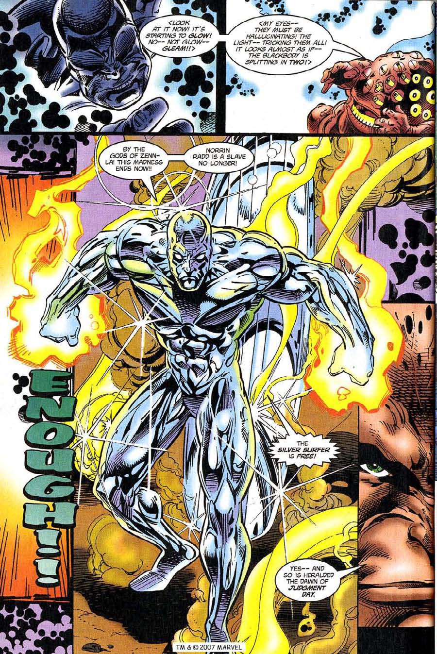 Silver Surfer (1987) Issue #118 #126 - English 32