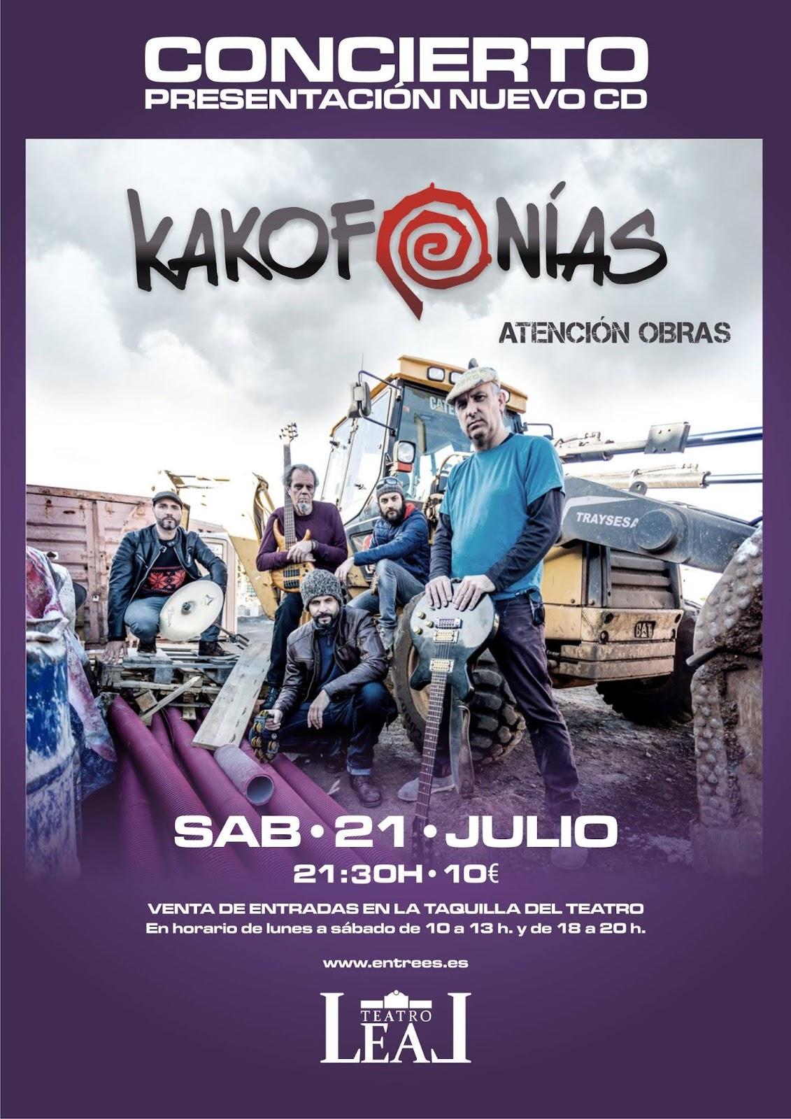 21 de Julio en el Teatro Leal de La Laguna