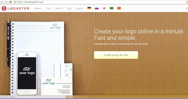 Cara Mudah Membuat Logo Online Dengan Logaster