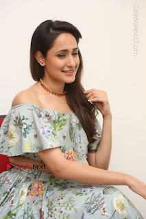 Actress Pragya Jaiswal Stills in Floral Dress at turodu Interview  0150.JPG