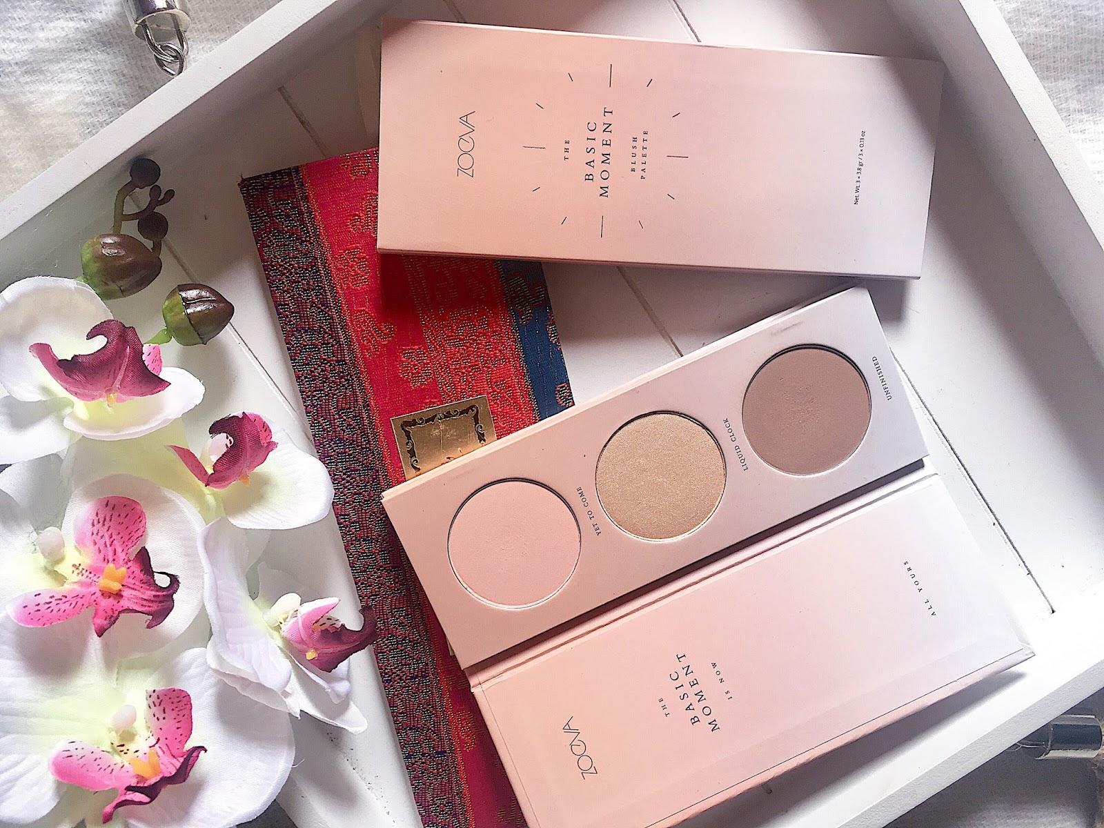 blush palette basic moment