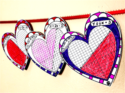 Algebra Hearts Pennant bundle