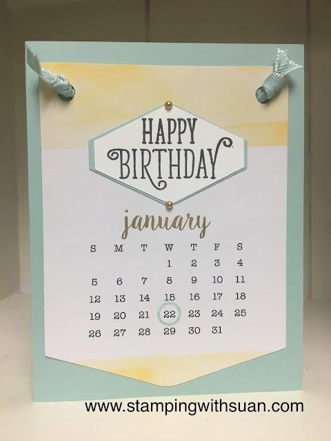 Stampin' Up!, Happy Birthday, Paper Pumpkin, www.stampingwithsusan.com