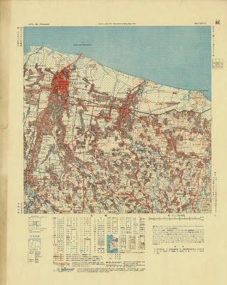 Foto peta pekalongan kuno tahun 1920