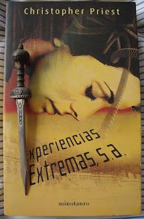 Portada del libro Experiencias Extremas, S.A. de Christopher Priest