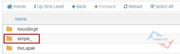 Cara Mengaktifkan Fungsi Kontak di Layout Simple_ LapakInstan