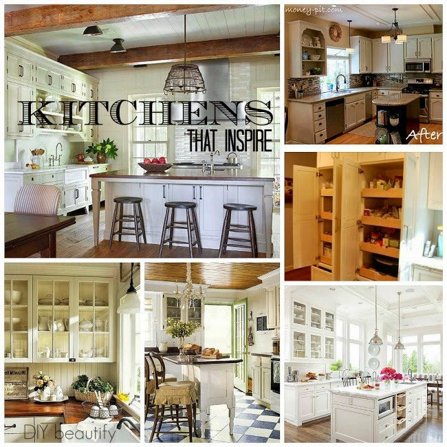 Kitchen Inspiration www.diybeautify.com