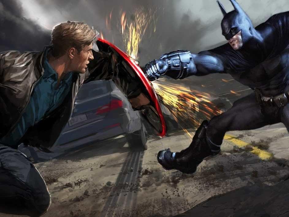 Como seria um filme sobre a Liga da Justiça contra os Vingadores? Veja aqui!