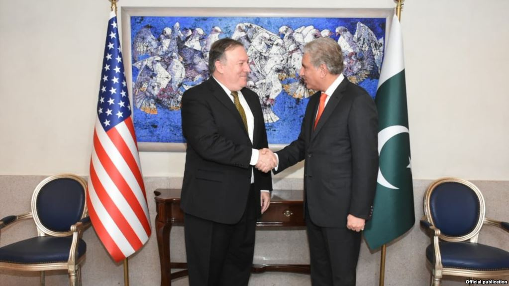 Mike Pompeo reached Pakistan for Negotiations on 'Do More' against Terrorists