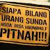 """""""Bapa Ahmad Sobandi Ngantunkeun, Basa Sunda Tong Dipopohokeun"""""""