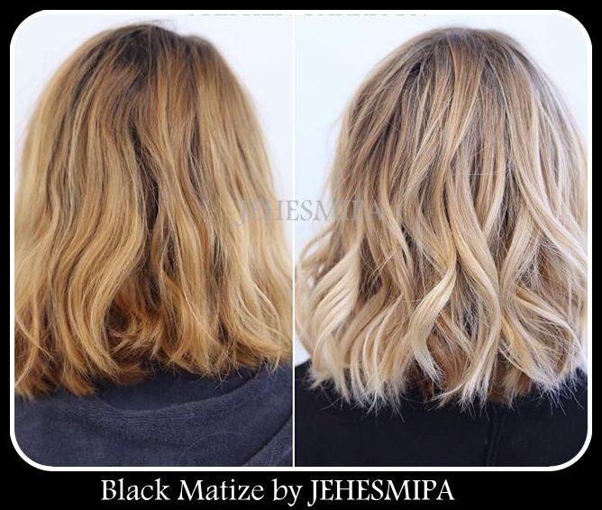Champ negro para platinar el cabello bella en casa - Como matizar el pelo rubio en casa ...