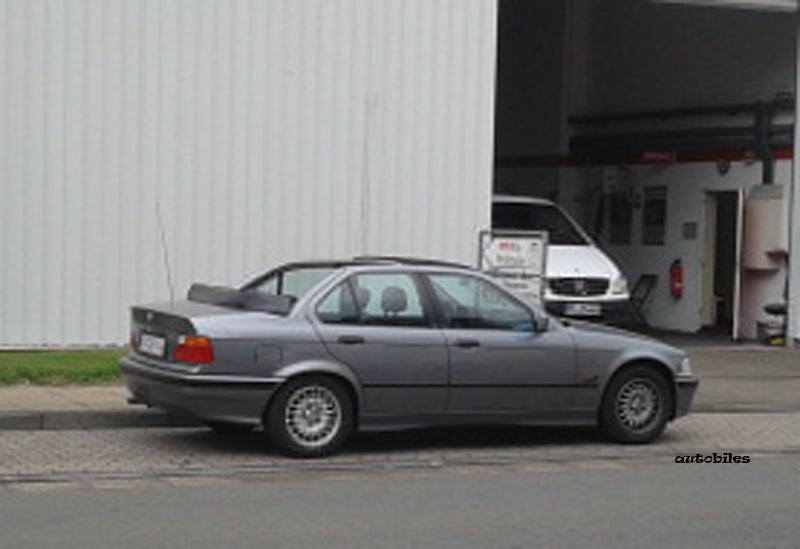 Autobiles Seltenes Bmw E36 Baur Cabrio Gesichtet