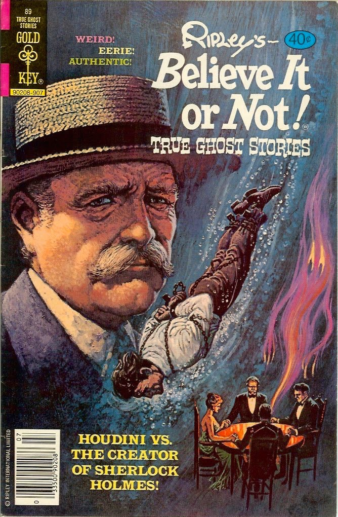 Wild About Harry Houdini Amp Doyle Believe It Or Not