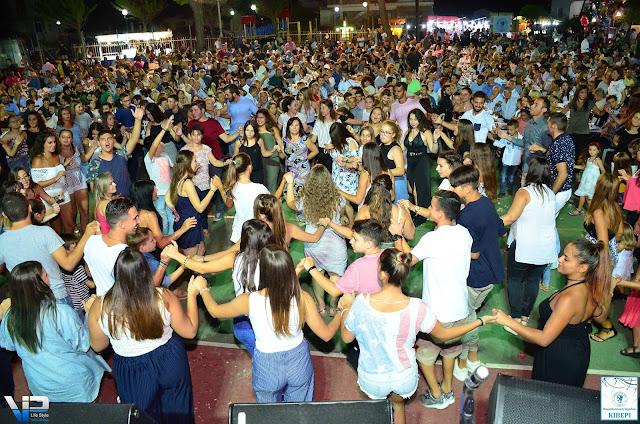 Η διασκέδαση χτύπησε κόκκινο στη λαϊκή βραδιά που διοργάνωσε ο Ερμής Κιβερίου