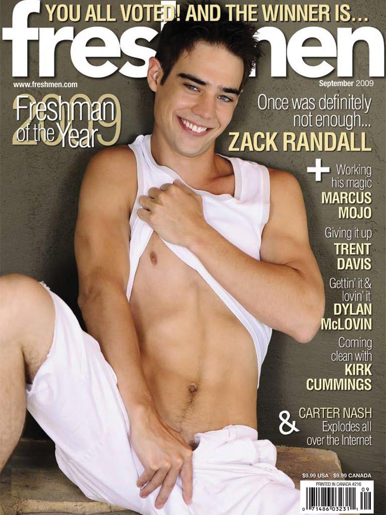 Freshmen magazine naked
