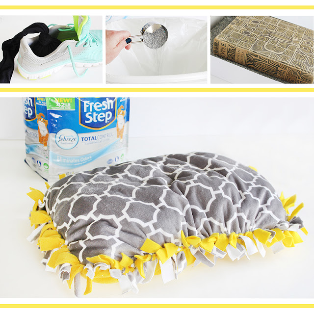 how to keep house clean from cat litter