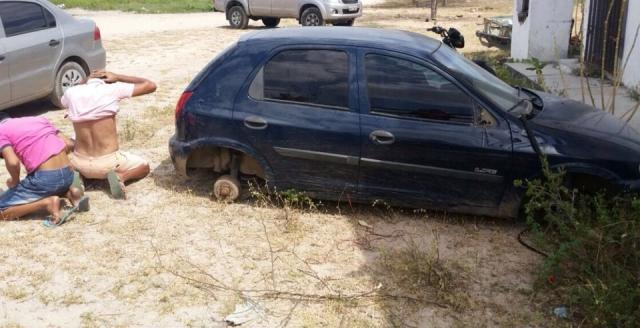 Veículo roubado em Mauim é localizado no Sertão Sergipano