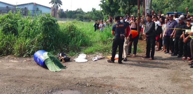 Geger Penemuan Mayat dalam Drum Plastik di Klapanunggal, Ini Identitasnya