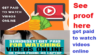get paid to watch videos online