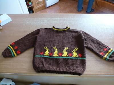 Sweterek na zimę dla 3 letniej dziewczynki