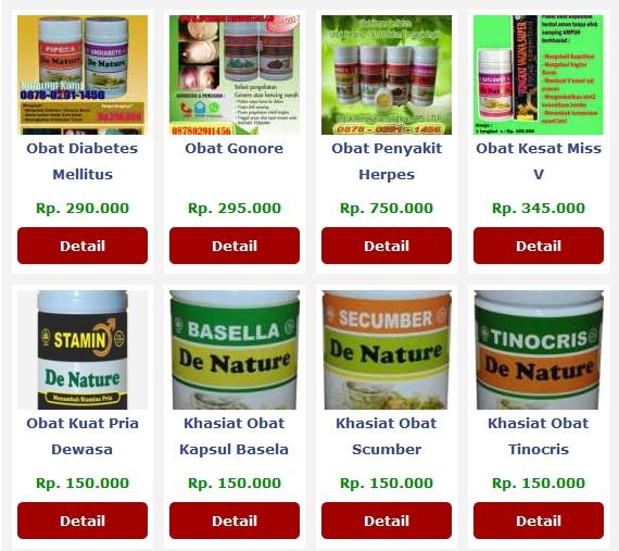 Cara Memesan Obat Herbal dari De Nature Indonesia