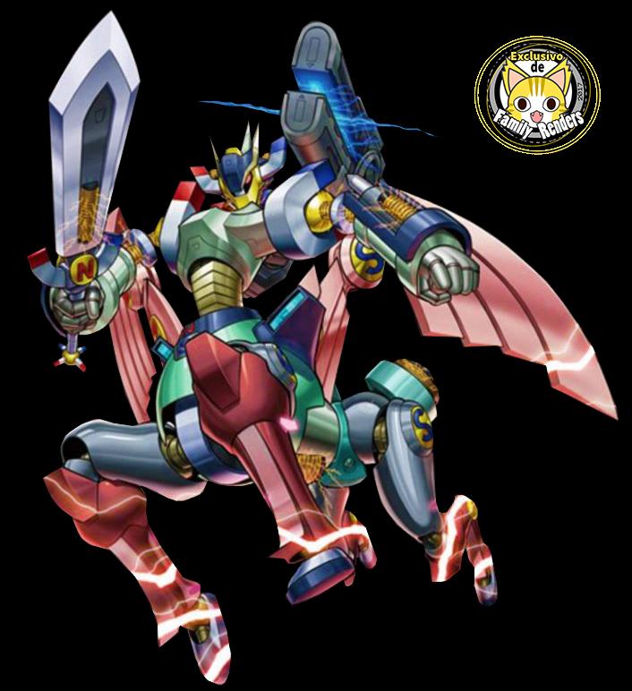 render Imperion Magnum el Batallabot Súperconductivo