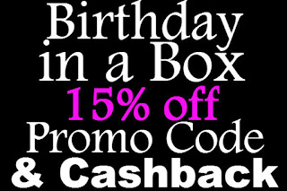Birthday in a Box Promo Code February, March, April, May, June, July 2016