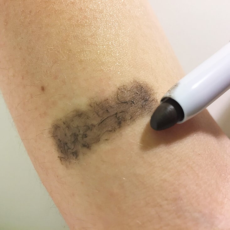 e.l.f. Tinted Shape and Stay Wax Pencil Neutral Brown swatch